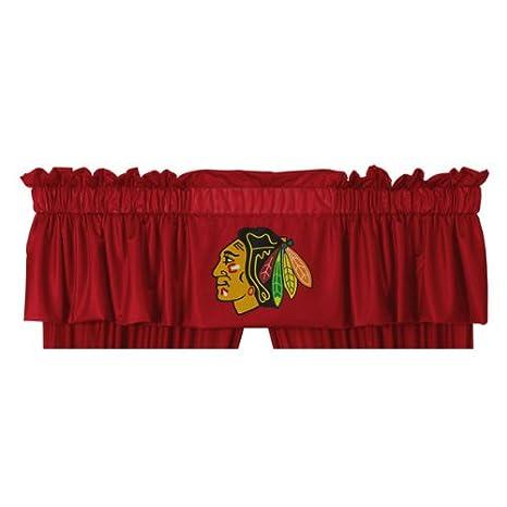 NHL Chicago Blackhawks Shower Curtain Bathroom Accessories Sports Coverage
