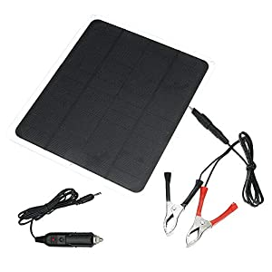 Shumo 20W 12V Solar Panel Usb Solar Panel with Car Charger for Outdoor Camping