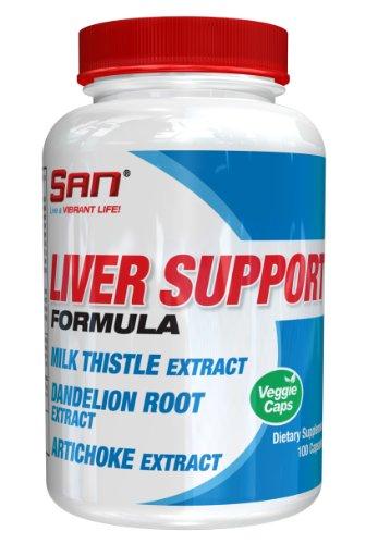 SAN Nutrition Liver Support Formula Detoxification Supplement, 100 - Detoxification Supplements