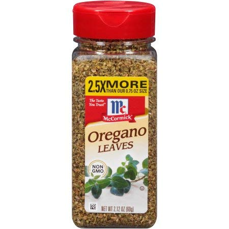 McCormick Oregano Leaves (Pack of 10)