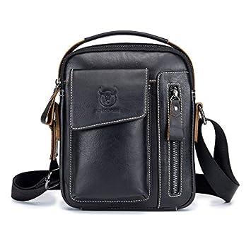 d661858cb9 Fashionable Business Style Cow Leather Men Bag Casual Design Men Messenger  Bag Vintage Men s Crossbody Bag Best Gift  Amazon.ca  Sports   Outdoors