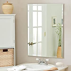 Large rectangle wall mirror 30 in x 40 in - Large horizontal bathroom mirrors ...