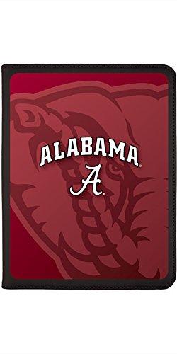 Alabama - Watermark design on Black 2nd-4th Generation iPad Swivel Stand Case