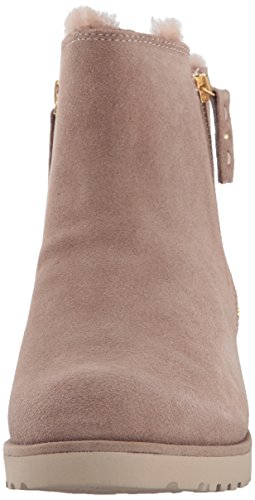 Leather Ankle Women's Boot Women's Shala Ugg Suede In Fawn Black qWaZ7Uc