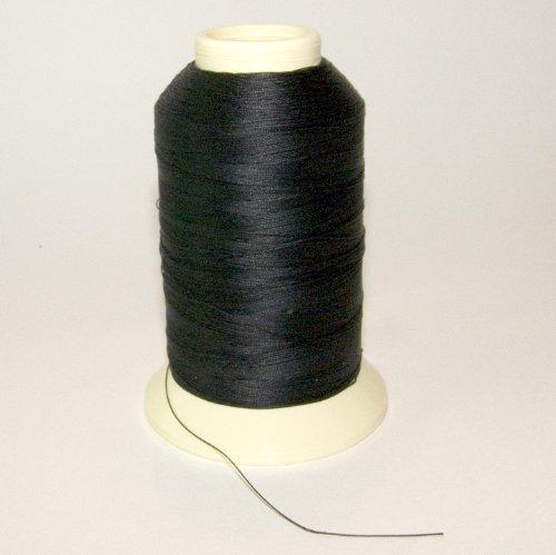 (Thread, Polyester, Coats Bonded Polyester Thread-4 oz. Spools, Black - Size DB-92 T-90)