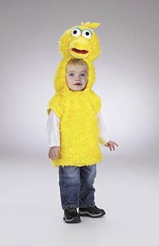 Toddler Big Bird Costume -Small 2T ()