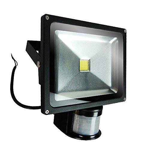 ETOPLIGHTING Super Bright LED Motion Sensor PIR Flood Light, Indoor Outdoor Adjustable Lamp APL1178, 20 Watt Day Light