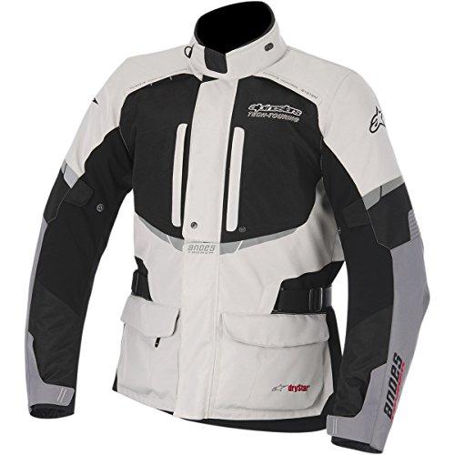 Alpinestars Andes Drystar Men's Street Motorcycle Jackets - Gray/Black / Large
