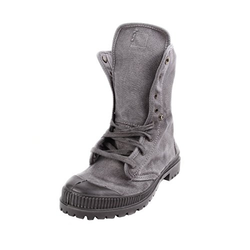 Natural Bota Woman World Grey Gris Boton Vegan TqZ1xrT