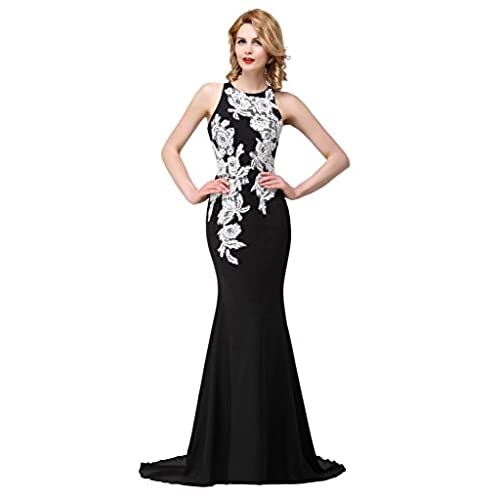 Black and White Formal Dress: Amazon.com