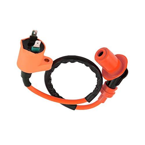 Lynn025Keats Racing Ignition Coil CDI+Ignition Coil+Spark Plug For GY6 50cc 125cc 150cc: