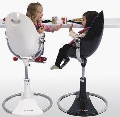 wei/ß gro/ßes seat pad Sitzeinlage f/ür bloom fresco OHNE kleines seat pad und OHNE Gurte coconut white