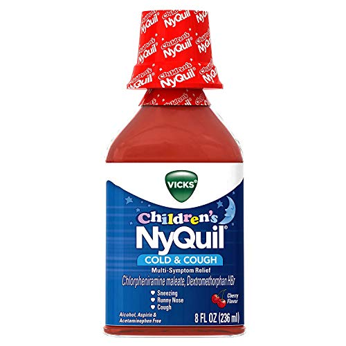 - Vicks NyQuil Children's Cold & Cough Liquid Cherry Flavor - 8oz, Pack of 2