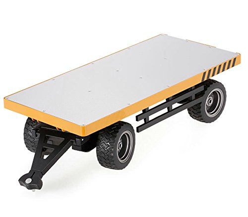 Top Race Truck Carrier Slab Attachment for Top Race TR-216 Remote Control RC Forklift, Heavy Metal Carries more than 26 Lbs (TR-217)