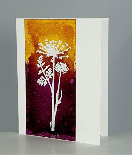 Each Stem - Stems Series. 5 cards. Each unique.