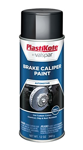 (PlastiKote CP-253 Hi Gloss Black Brake Caliper Paint - 12 Oz.)