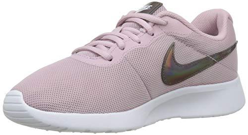 (Nike Women's Tanjun Shoe Plum Chalk/White Size 7 M US)