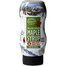 Butternut Mountain Farm 100% Pure Vermont Maple Syrup, Grade A Dark Robust (formerly Grade B), 12oz