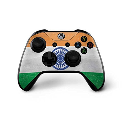 Countries of the World Xbox One X Controller Skin - India Flag Distressed | Skinit Lifestyle - India Lifestyle Of