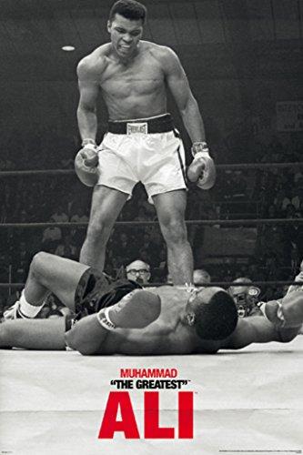 (Muhammad Ali vs Liston Poster 24x36 inch)