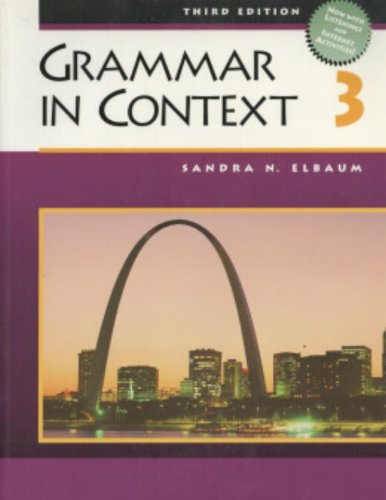Grammar in Context 3, Third Edition (Student Book)