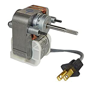 Broan 671 replacement bath fan motor 99080255 1 5 amps 1500 rpm 120 volts by nutone broan for Broan bathroom fan replacement motor