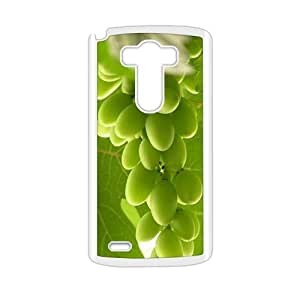 Fresh green grapes nature style fashion phone case for LG G3