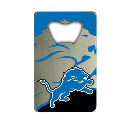 NFL Detroit Lions Credit Card Style Bottle Opener ()