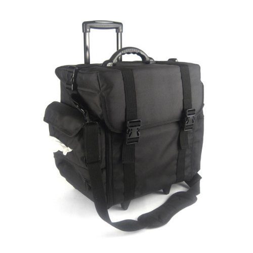 Multifunctional Trolley Case Black by Monda