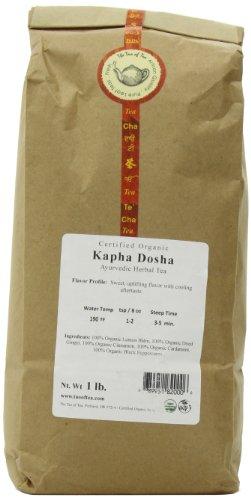 Kapha Tea (The Tao of Tea Kapha Dosha, Certified Organic Ayurvedic Tea, 1-Pound)