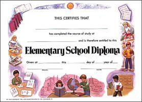 hayes school publishing va222 elementary school diploma set of 25 9