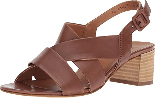 Paul Green Women's Reese Sandal Nougat Leather 9 M US ()