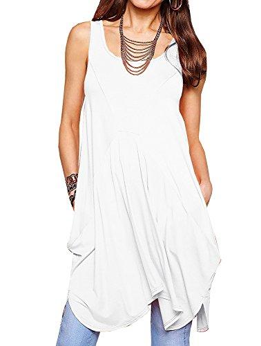 爆発する記念碑証人Fashare DRESS レディース US サイズ: L カラー: ホワイト