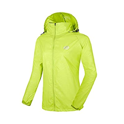 LeoVera Unisex UV Protect Quick-Dry Lightweight Windbreaker Outdoor Hoodie Skin Coat Skin Jackets Skin Jackets