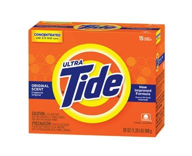 Tide Powder Laundry Detergent Original Scent 20 Oz by Procter And Gamble