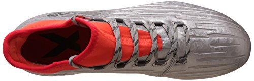 Adidas X 162 Fg - S79537 Plateado-rojo