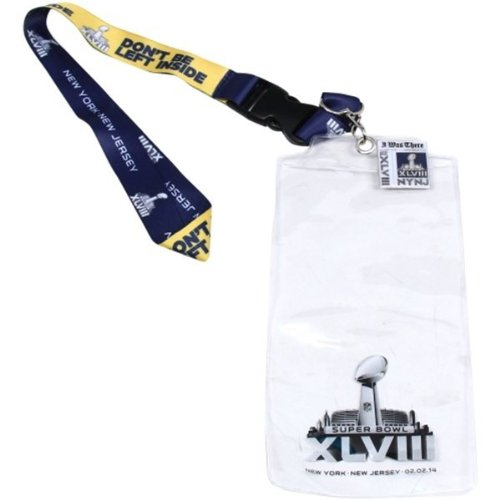 Super Bowl XLVIII (48) Lanyard, Ticket Holder and