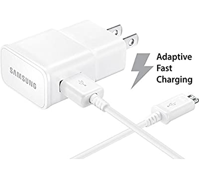 Samsumg EP-TA20JWE Fast Adaptive Wall Charger for Galaxy S7 S6/S6 Edge/Edge Plus S6 Active Note 5 4 - White from Samsumg