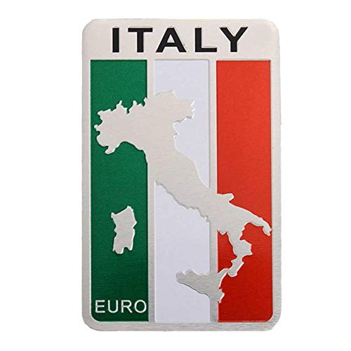 Aluminum Alloy Russia/Italy/England/German/France/USA Flag Shield Emblem Sticker Badge Decal Decor Motorcycles Cars Styling