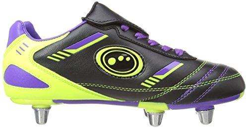 Rugbyschuhe Nero Purple Tribal Green Optimum Black Jungen qFvw1