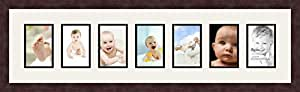 Art to Frames Double-Multimat-375-61/89-FRBW26061 38 by 10-Inch Picture Frame, 1.25-Inch Wide, Espresso