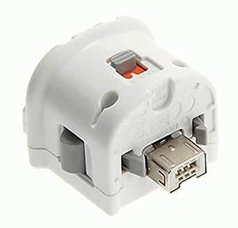 Sensor de Movimiento Incrementado Adaptador Externo Para Nintendo Wii Control Remoto Blanco