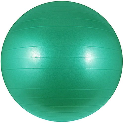 Fitness Ball - Stability Ball – Strength Core Exercise Ball –Desk Chair For Home Or Work Office - Yoga Ball And For Pilates - Green 75cm Anti Burst with Pump Included. From My Fitness Gear