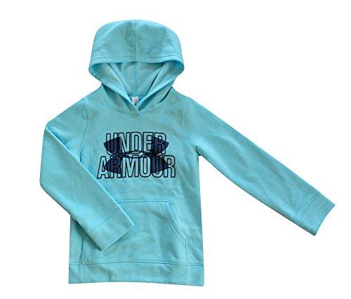 Under Armour YOUTH GIRLS Big Logo Fleece Hoodie Pullover (XL 16/18)
