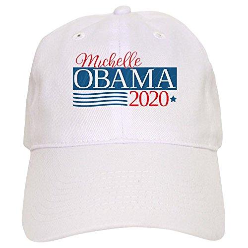 CafePress Michelle Obama 2020 - Baseball Cap With Adjustable Closure, Unique Printed Baseball Hat - Anti Obama Cap
