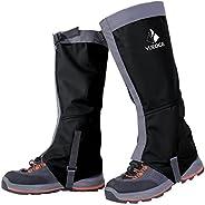 Waterproof Snow Leg Gaiters - YUEDGE Lightweight Waterproof Breathable Long Gaiters for Outdoor Walking Hiking