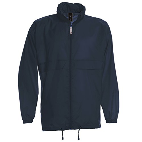 B&C Sirocco Mens Lightweight Jacket/Mens Outer Jackets (M) (Navy Blue) ()