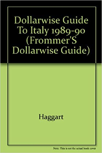 Pdf frommers italy