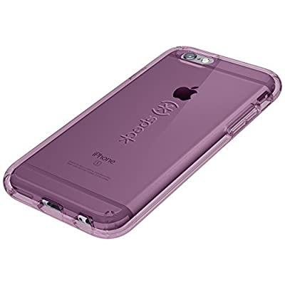 Speck Products CandyShell Clear Case for iPhone 6 Plus/iPhone 6s Plus, Beaming Orchid Purple from Speculative Product Design, LLC