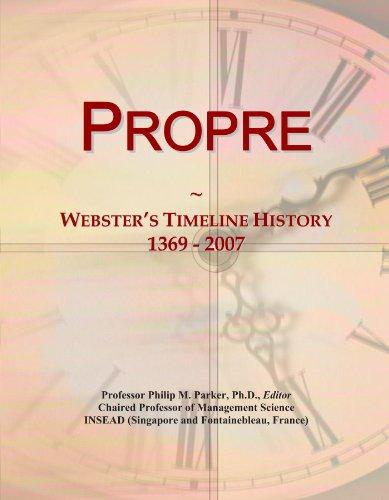 Propre: Webster
